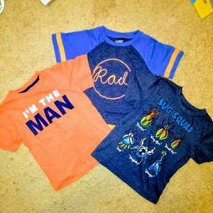 Bundle 4t boys shirts